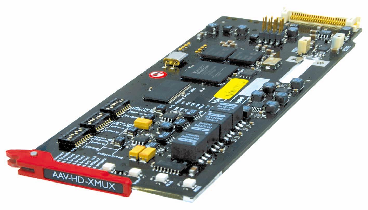 AAV-HD-XMUX_board